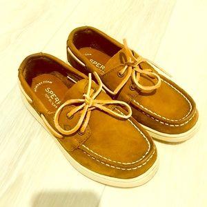 💙 Little Boys Sz 13 Sperry Top Slider Boat Shoes